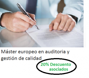 Máster europeo en auditoria y gestión de calidad