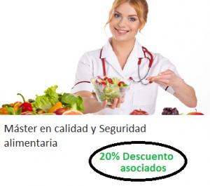 master en calidad y seguridad alimentaria