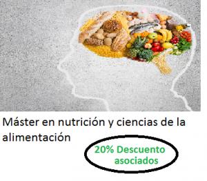 master en nutricion y en ciencias de la alimentacion
