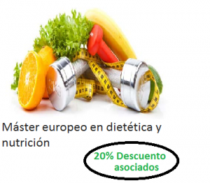 master europeo en dietetica y nutricion